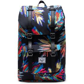 Herschel Little America Mid-Volume Backpack 17l, czarny/kolorowy